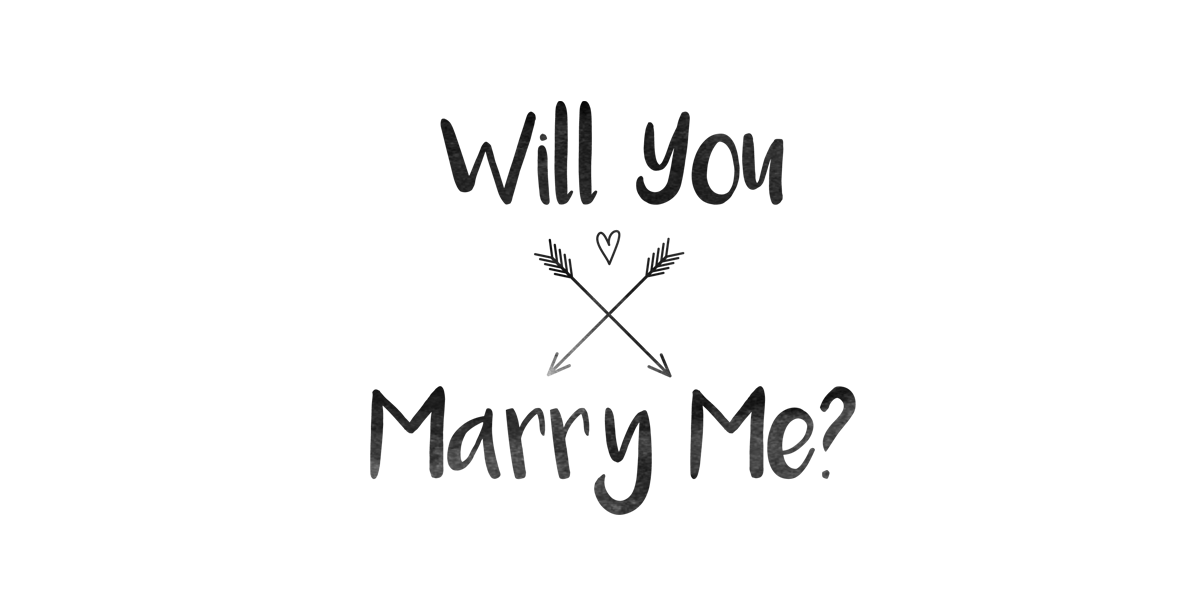 Will You Marry Me? | Frankston Custom T-Shirts