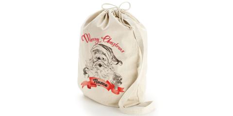 Vintage Santa Sack Custom Name Print