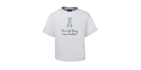 This Little Bunny Boys Tee - White