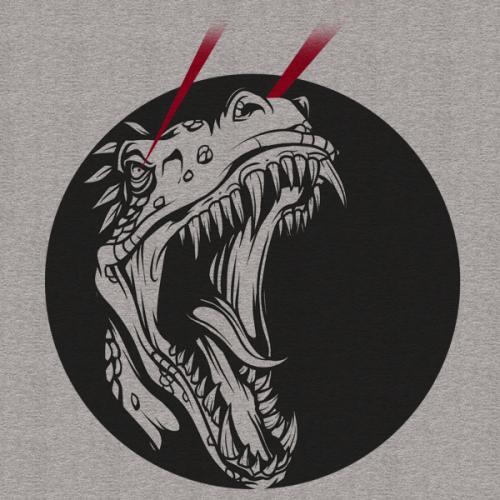 Laser Dinosaur Print