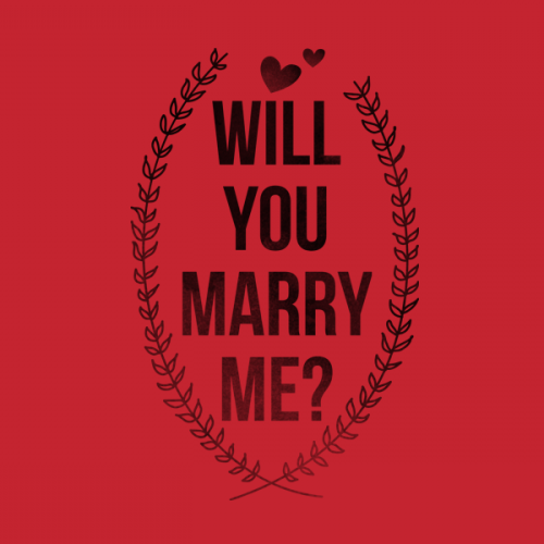 Will You Marry Me? (Stacked)